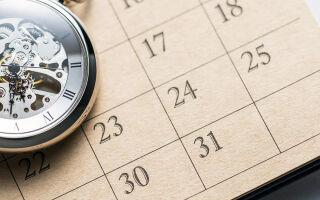 9 правил для эффективного планирования своего времени