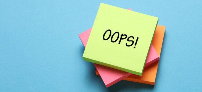 5 ошибок, которые мешают принимать правильные решения